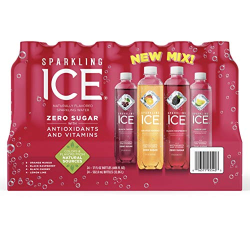 Sparkling Ice Fruit Blasters Variety Pack, 17 Ounce, 24 Pack, Pack of 1