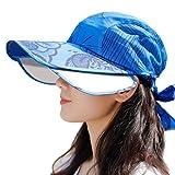 サンバイザー レディース ハット メッシュ つば広 レインバイザー ブリム伸縮可能 自転車用 おしゃれ バッテリカー UVカット 防水 吸汗速乾 紫外線対策 日焼け対策 帽子