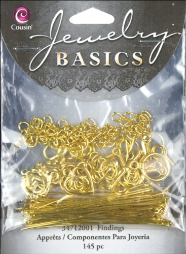 Cousin Jewellery Basics Fermoir en métal Multicolore 6,35 x 6,98 x 9,52 cm