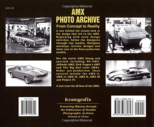 AMX Photo Archive: From Concept to Reality