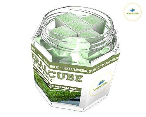 NatureHolic - MineralCube 'Spinat Power' - 47ml - Mineralversorgung + Ferienfutter - 21,26EUR/100ml