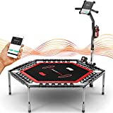 Messe-Neuheit 2020! Smart Fitness Trampolin, inkl....