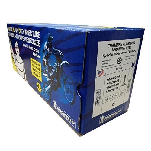 Cámara de aire Michelin 19 UHD TR4 (100/90-19, 110/90-19, 120/80-19, 130/70-19)