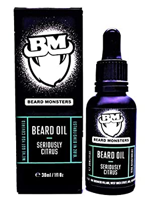 Beard Monsters Beard Oils 3Oml (Seriously Citrus) from Beard Monsters