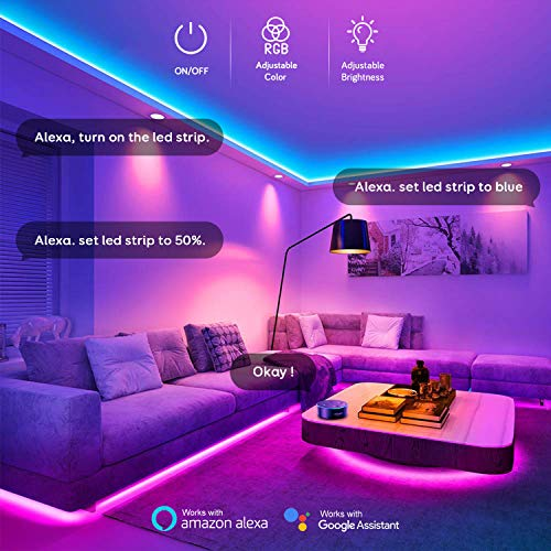 Maxcio-Alexa-LED-Strip-Lights
