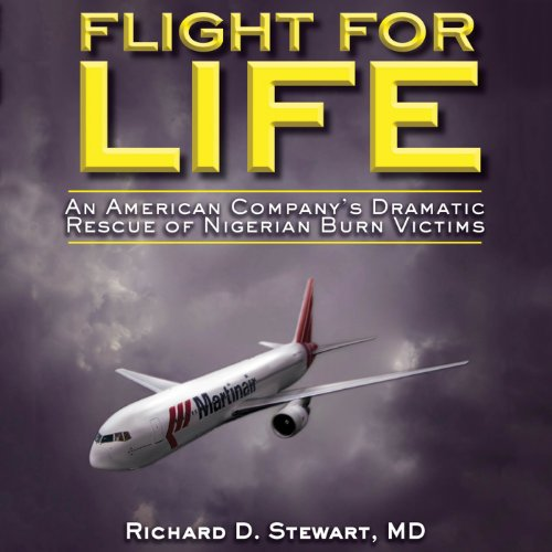 Flight for Life audiobook cover art