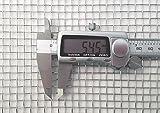 Inoxia - Rete metallica intrecciata – 4 maglie (fili da 0,9 mm) (acciaio inox 304L) – ...