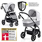 Hauck 10-teiliges Kinderwagen-Set 2in1 - Saturn R Duoset - inkl....