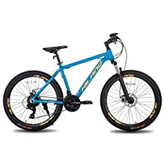 The Hiland mountain bike is ideal for everyday rides to school,work or a cross country ride.With a size of 26 inches, it is suitable for boys over approx. 5'1'' in height, but also for men. The model is a real eye-catcher, which Leaves a lasting impr...