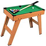 Kids Mini Pool Snooker Billiard Table Indoor Gaming Fun Play Sport Toy Childrens