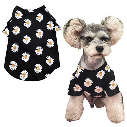 Petyoung Camiseta de Perro Mascota Moda Ropa Cachorro Verano Floral 2...