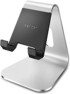 Spigen S310 Cell Phone Stand Smart Phone Stand Charger with Aluminum Body Phone Holder for iPhone X / 8/8 Plus / 7/7 Plus / 6S / 6S Plus/Galaxy Note 8 / S8 / S8 Plus / S7 Edge & More