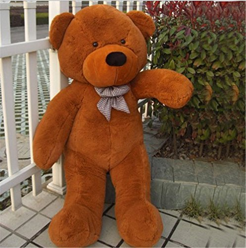 YXCSELL Brown Cuddly Giant Teddy Bear Super Soft Huge Plush Stuffed Animal Toys Doll 47 Inches for Valentine