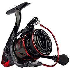 NEXT-GEN - KastKing Sharky III spinning reels look great. They are built tough to land trophy fish in saltwater and freshwater. Sharky III are superb lightweight fishing reels built with a high percentage fiber reinforced graphite body and rotor! PUR...