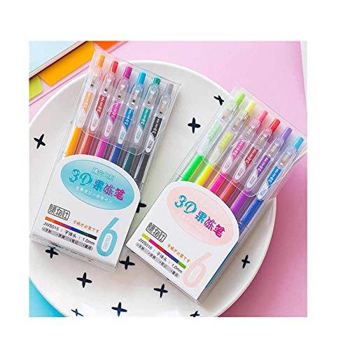 3D DIY Painting Jelly Pen Set - 12 Colors Acrylic Paint Marker Pens - Reflective Luster, Waterproof & Anti-fading, DIY Graffiti Colored Pen Set, Metallic Marker Pen for DIY Craft, Painting (12 Color)