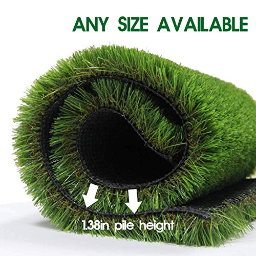 LITA Premium Artificial Grass 3' x 79' (237 Square Feet) Realistic Fake Grass Deluxe Turf Synthetic Turf Thick Lawn Pet Turf -Perfect for Indoor/Outdoor Landscape - Customized
