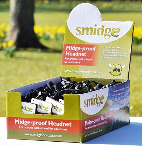 Smidge Unisex's Midge and Mosquito-Proof Super Lightweight Head Net-Green, One Size