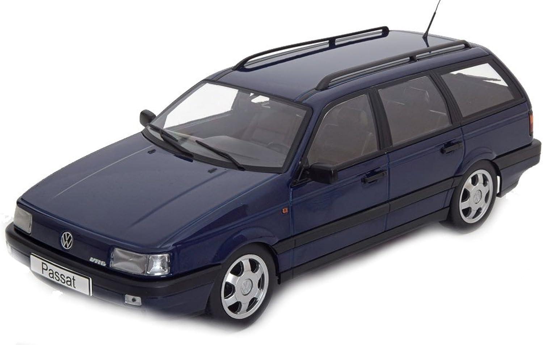 Modellauto KKScale 1 18 VW Passat B3 VR6 Variant 1988 dunkelblue Limited Edition 1000 pcs.