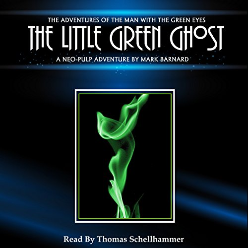 The Little Green Ghost audiobook cover art