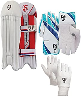 SG Keeper Wicket Keeping Combo for Senior Players Set of Three