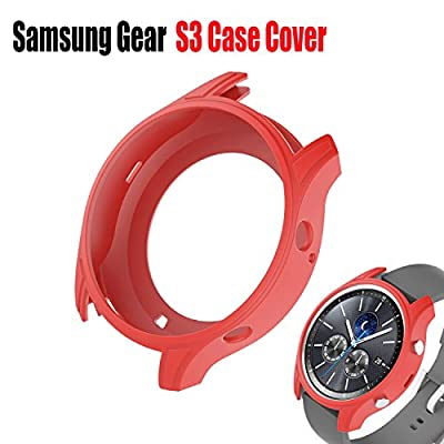 Wabooth Shock-proof Silicone Slim Accessories Protective Band Case Cover for Samsung Gear S3 Classic Smartwatch