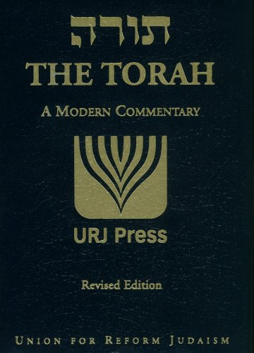 The Torah: A Modern Commentary (Travel Edition) (English and Hebrew Edition)