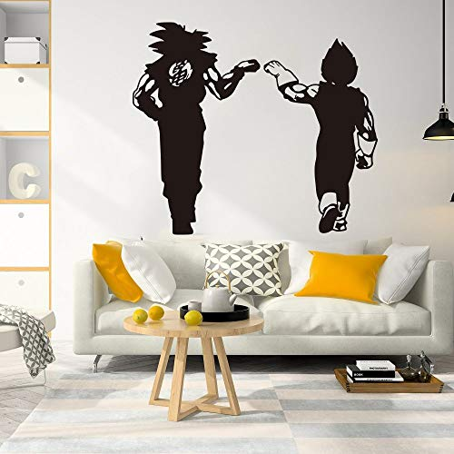 Gran Dragon Ball Z Goku Nimbus Wall Decal Nursery Manga Dragon Ball Goten Trunks Janpanse Saiyan Anime Wall Sticker Car Laptop 86 * 98cm
