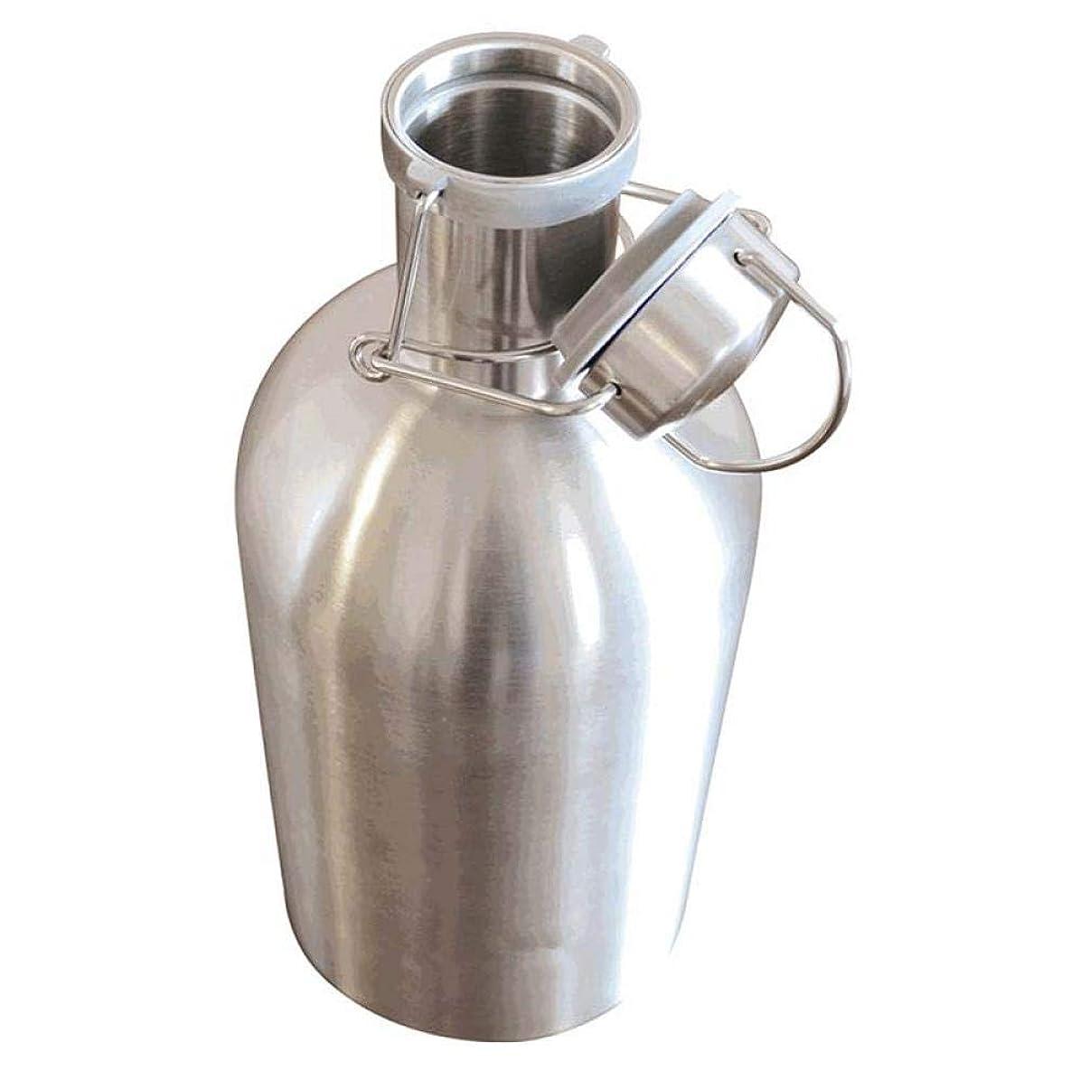改革震える西1L / 1.5L / 2L健康的なビール樽ステンレススチールワインボトルクーラーダブルウォールドリンクチラー新しい創造的なワインジャグ