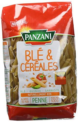 Panzani Pâtes Penne Blé et Quinoa 500g