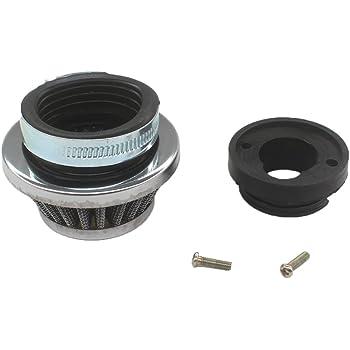 Yunshuo filtre /à air W//adaptateur billet en aluminium pour 2/temps 47/49/Pocket bike Mini Quad