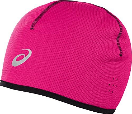 Asics - Gorro de invierno, color rosa, talla S/M