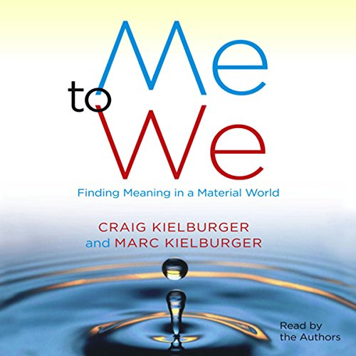 Me to We audiobook cover art