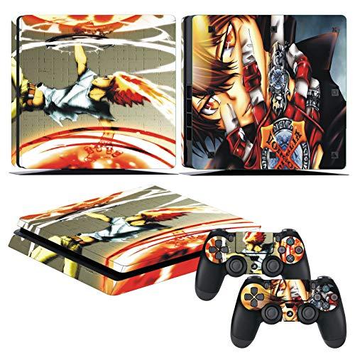 EBTY-Dreams Inc. - Sony Playstation 4 Slim (PS4 Slim) - Katekyo Hitman Reborn Anime Tsuna Vongola Family Vinyl Skin Sticker Decal Protector