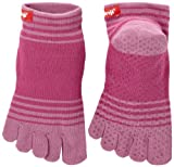 Injinji Performance Yoga Original Micro CoolMax Toe Socks-Orchid-Medium