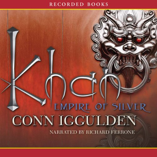 Khan: Empire of Silver audiobook cover art
