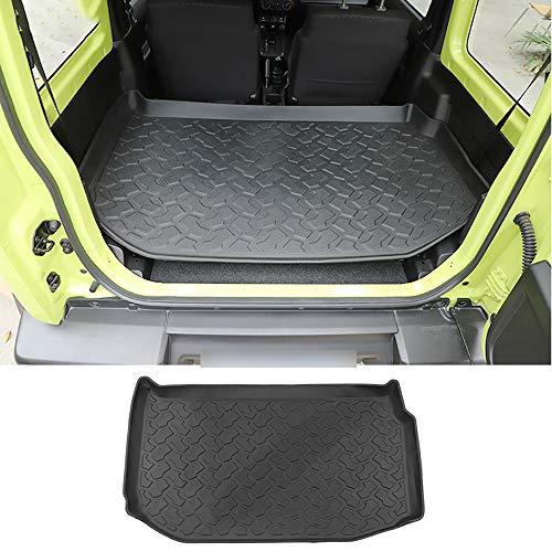 TDPQR Auto Kofferraummatte für Suzuki Jimny 2019+, Kofferraumschutzdecke Wasserdichter rutschmatte Schmutzfangmatte, Zubehör für die Innenausstattung von Kraftfahrzeugen