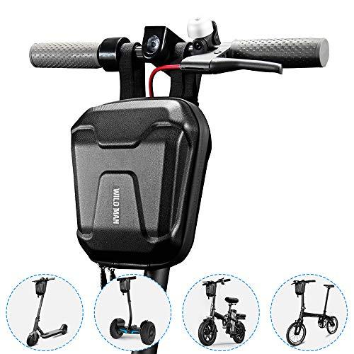 Lixada scooter stuurtas, elektrische scooter tas waterdichte scooter voortas grote capaciteit scooter opbergtas Eva-tas voor Xiaomi Mijia M365 vouwfiets enz.