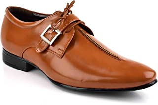 Levanse Tan Synthetic Leather Exclusive Formal Shoes for Men/Boys