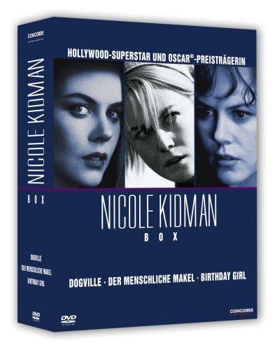Nicole Kidman - Box (enthält die Filme Dogville, Der menschliche Makel und Birthday Girl) [3 DVDs]