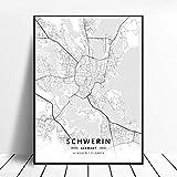 WUCHONGSHUAI Leinwanddruck,Schwerin Deutschland