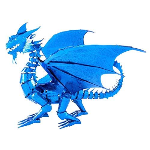 Metal Earth ICONX Blue Dragon
