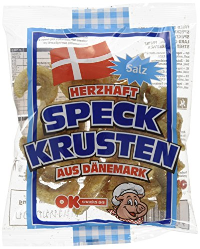 Ok Snacks Bacon Chips 50g, 24er Pack (24 x 50 g)