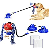 Dog Toys for Aggressive Chewers Large Breed Interactive Dog Toys Indestructible Dog Chew Toy for Aggressive Chewers Suction Cup Dog Toy Tug Toy for Dog Puzzle Toys