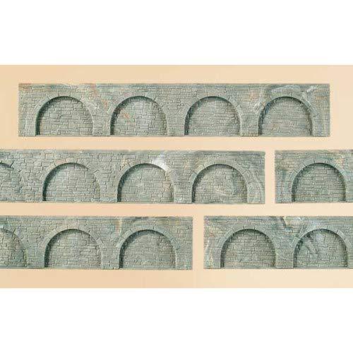 Auhagen 43628.0 - Arkadenteile, 194 x 32 mm, bunt