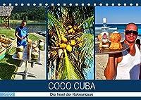 COCO CUBA - Die Insel der Kokosnuesse (Tischkalender 2022 DIN A5 quer): Die Vermarktung von Kokosnuessen in Kuba (Monatskalender, 14 Seiten )