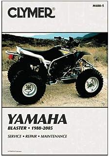 Manual de serviço Clymer para blaster Yamaha 88-06