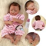 ZIYIUI Doll 20 Pulgadas 50 cm Muñecos Bebé Realista Reborn Bebé Muñeca Silicona Suave Simulación de Vinilo Realista Lindo Recién Nacido Bebé Juguete 3+ años de Edad