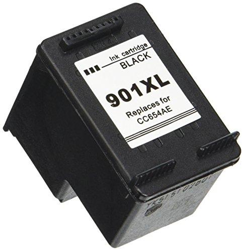 daryo Cartuchos de tinta remanufacturados para HP 901X L Negro Y Color HP 901X L CC654AE CC656AE (1Negro, 1color)