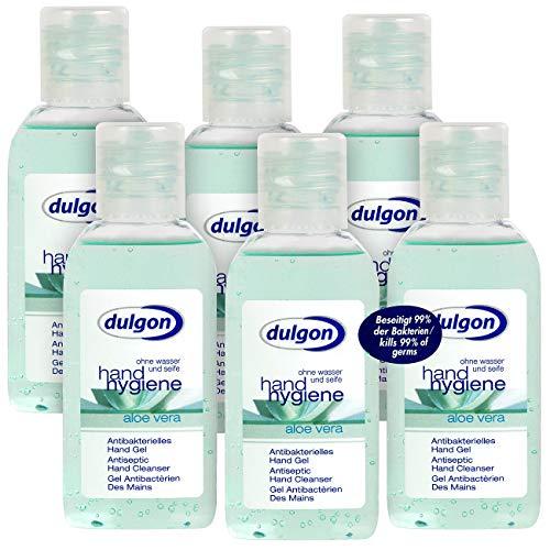 dulgon 6er-Set antibakterielle Handgels