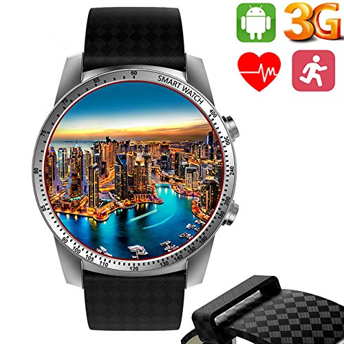 LYA Android 3G Intelligente Guarda KW99 Android 5.1 MTK6580 Bluetooth 3G GPS WiFi del Telefono della Vigilanza 8GB Frequenza Cardiaca Monitoraggio Smart Guarda